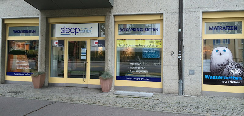 Sleepcenter St.Gallen - Bettencenter - Matratzengeschäft